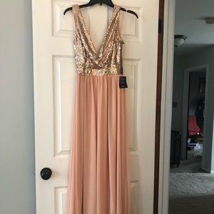 Lulu's Sequin Gown